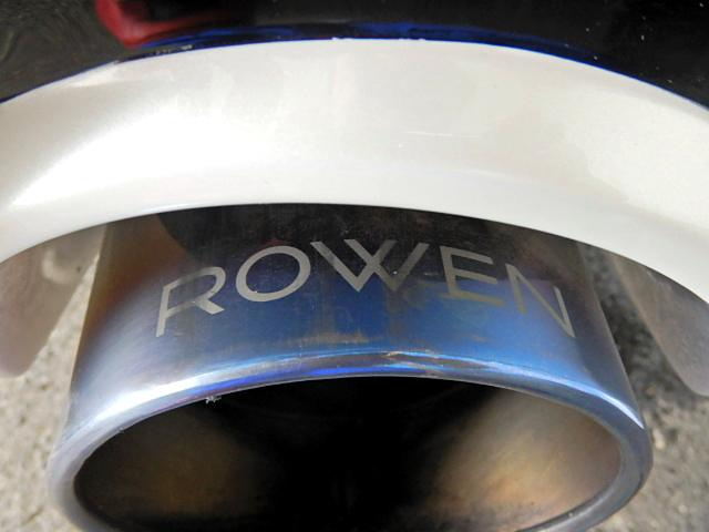 ROWEN製マフラー!左右2本だ