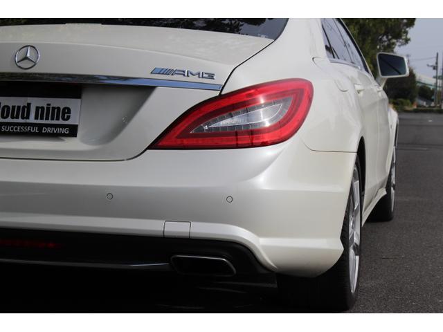 CLS350ブルーエフィシェンシAMGスポーツパケジ ワンオーナー ディーラー記録簿完備 AMG63エンブレム サンルーフ 黒革 シートヒーター 純ナビ地デジBカメラ ETC 取説 新車保証書 記録簿 スペアキー(39枚目)