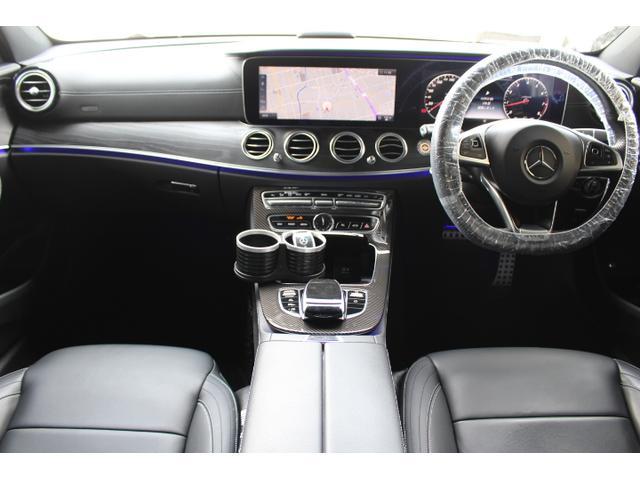 E250 アバンギャルド スポーツ 当社販売車両 買取直販車 E43仕様 レザーPKG ブルメスタサウンド エアバランスPKG 自動トランク 黒革前後シートヒーター D記録簿 ナビ地デジフルセグ360度バックモニター E43用20AW(11枚目)