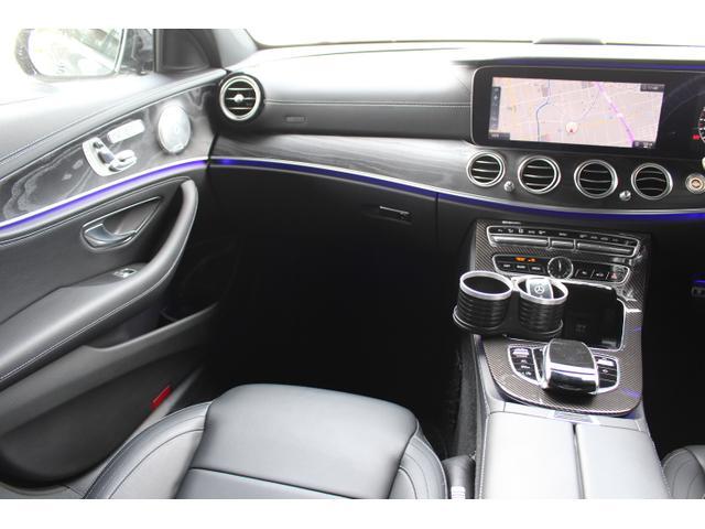 E250 アバンギャルド スポーツ 当社販売車両 買取直販車 E43仕様 レザーPKG ブルメスタサウンド エアバランスPKG 自動トランク 黒革前後シートヒーター D記録簿 ナビ地デジフルセグ360度バックモニター E43用20AW(13枚目)