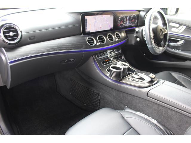 E250 アバンギャルド スポーツ 当社販売車両 買取直販車 E43仕様 レザーPKG ブルメスタサウンド エアバランスPKG 自動トランク 黒革前後シートヒーター D記録簿 ナビ地デジフルセグ360度バックモニター E43用20AW(15枚目)
