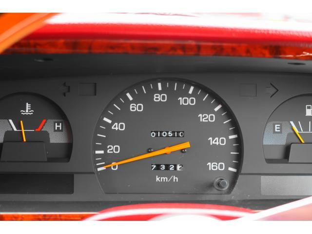 ★走行距離はなんと1万キロ台! アナログのオドメーターがまたモダンでいいですね♪★