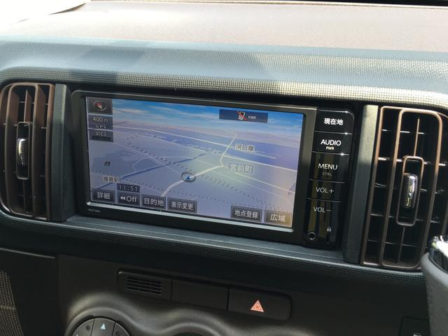トヨタ パッソ 1.0X Lパッケージ・キリリ ナビ TV ESC