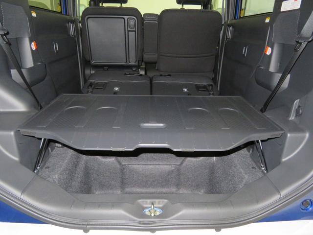 アンダートランク上に、デッキボード設置し荷物が上下に収納できます