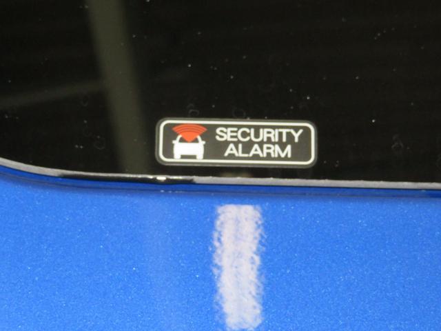 盗難警報装置付です。