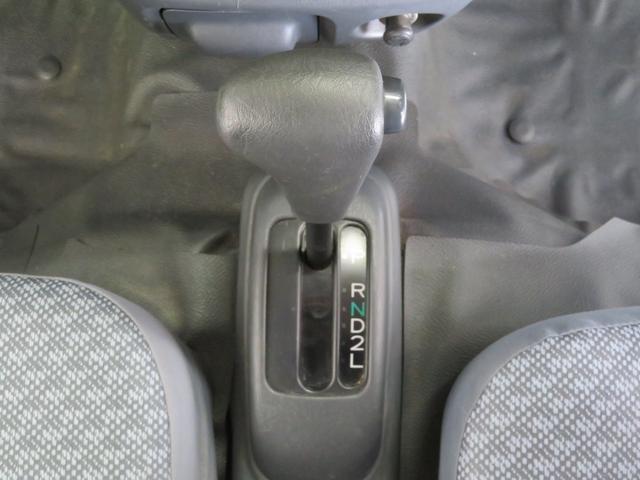 フロア式オートマチック車
