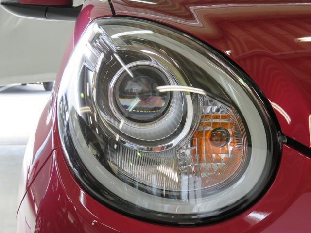 LEDヘッドライト低消費電力で燃費に貢献