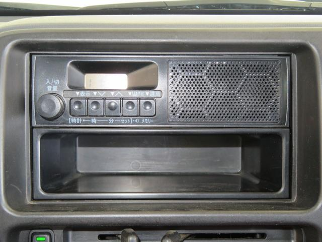 AM/FMラジオ付き。