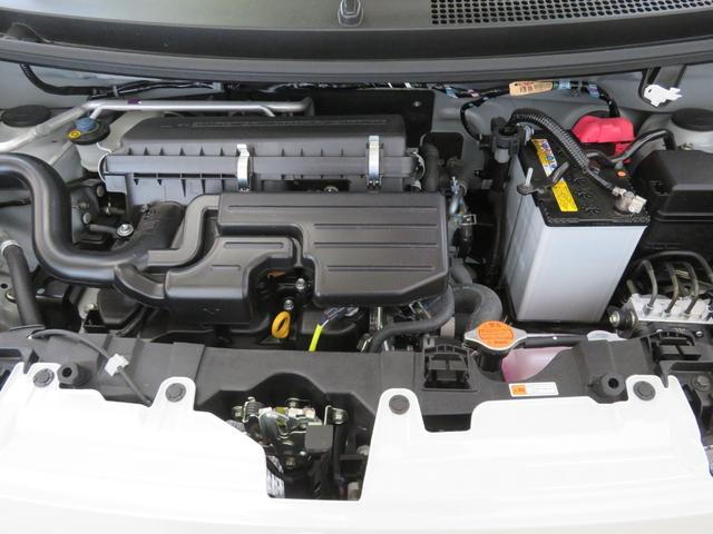 エンジンは綺麗に整備されています。