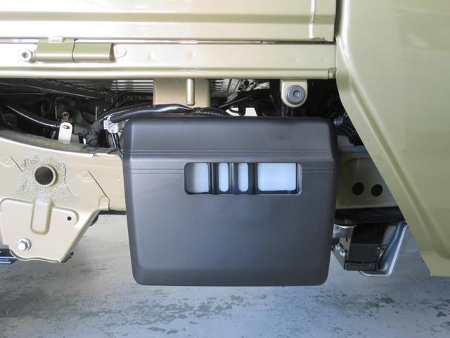 バッテリーカバー付。盗難防止に!!