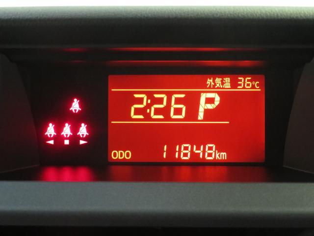 TFTカラーマルチインフォメーションディスプレイ.。実走距離11848kmです。