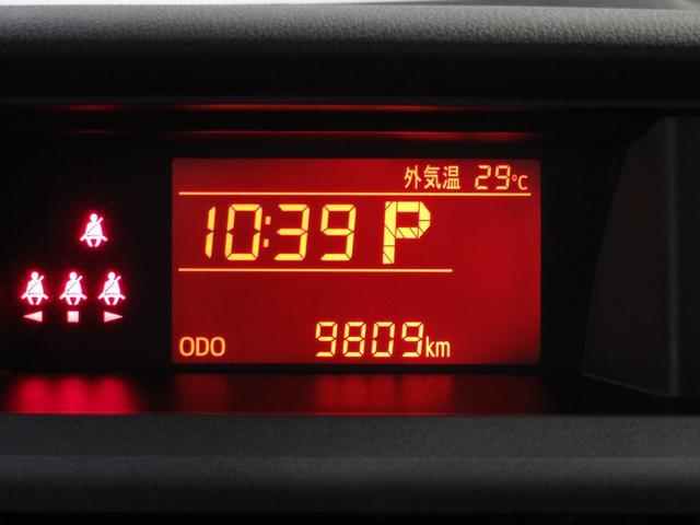 X 走行9809km バックカメラ 次世代スマアシ 両側スライド片側電動ドア オートライト コーナーセンサー キーフリー プッシュエンジンスタータ(11枚目)