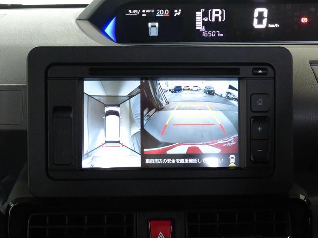 カスタムX 走行16507km 6.2インチディスプレイオーディオ DVD再生 全周囲カメラ 純正アルミ 自動駐車システム 両側電動スライドドア 次世代スマアシ オートハイビーム コーナーセンサー オートエアコン(14枚目)