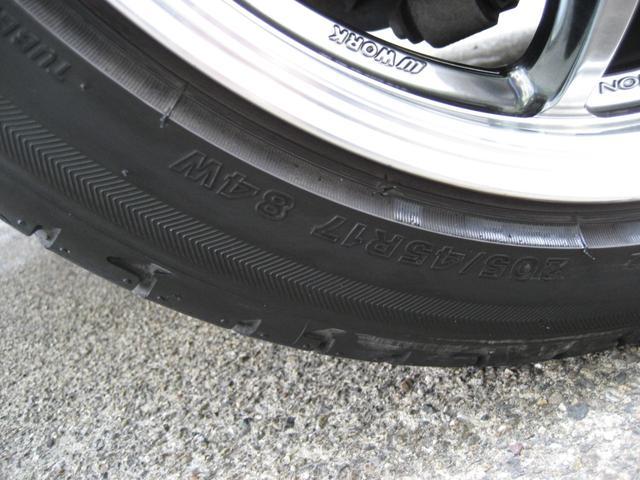 S 6MT HKS車高調ハイパーマックス ローダウン ワイドトレットスペーサー WORK社外17インチアルミホイール 当社下取ワンオーナー 禁煙車 オートワイパー LEDオートヘッド プッシュスタート(21枚目)