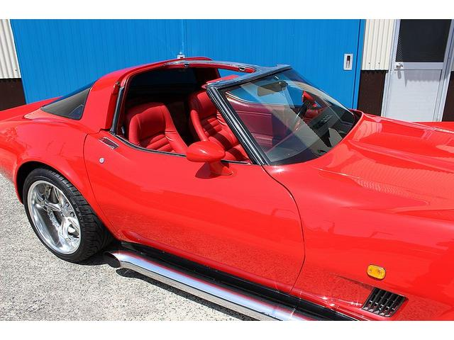 シボレー シボレー コルベット 350 4MT サイドマフラー