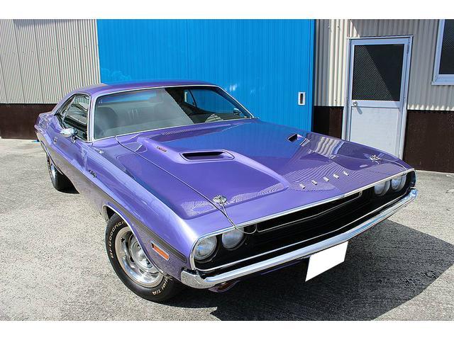1970年式チャレンジャーのご案内です。440、6パック!!パープル最高!!0533−86−8890カーズ!!