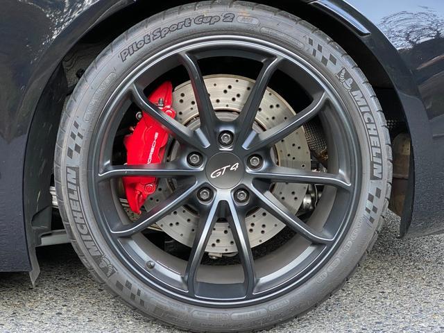 GT4 スポーツクロノパッケージ カーボンバケットシート ブラックカラーホイール ブラックウイング カーボンインテリアパッケージ(21枚目)