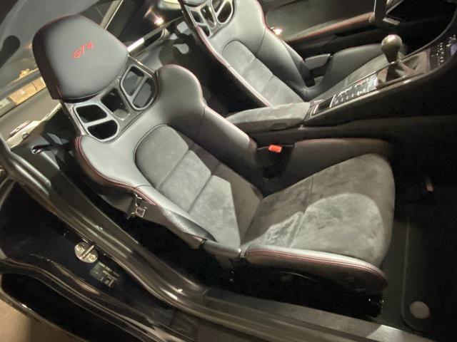GT4 スポーツクロノパッケージ カーボンバケットシート ブラックカラーホイール ブラックウイング カーボンインテリアパッケージ(38枚目)
