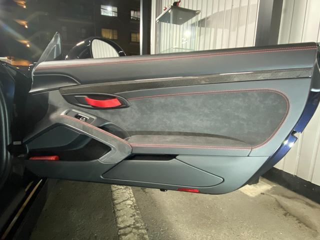 GT4 スポーツクロノパッケージ カーボンバケットシート ブラックカラーホイール ブラックウイング カーボンインテリアパッケージ(56枚目)