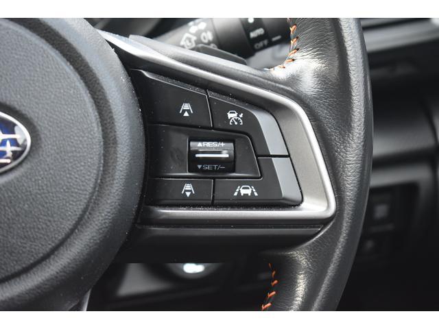 全車速追従機能付きクルーズコントロールで、前の車に追従して走れるので高速での疲労軽減に繋がります!