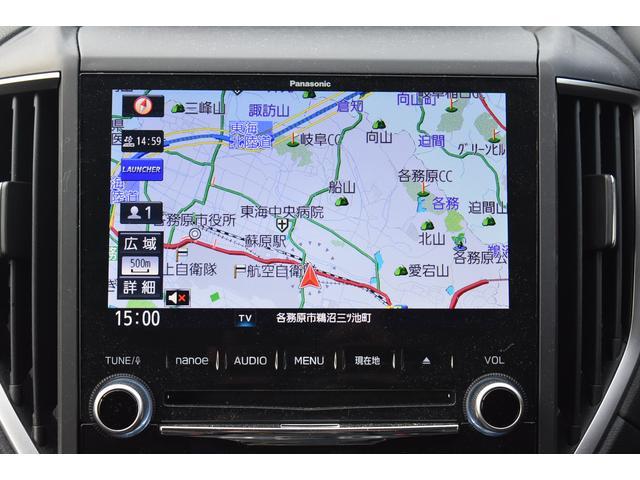 パナソニック製ビルトインナビ。現在地周囲の情報や渋滞情報、目的地へのルートなどスマートなドライブに欠かせないアイテムです。