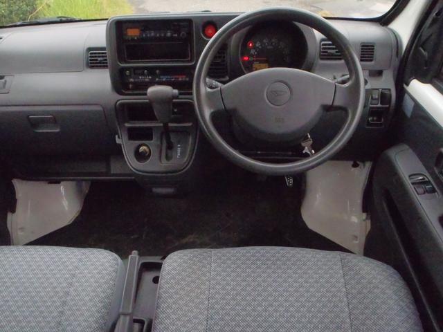 ダイハツ ハイゼットカーゴ 標準ルーフ オートマ車 2WD 2・4人乗り 集中ドアロック