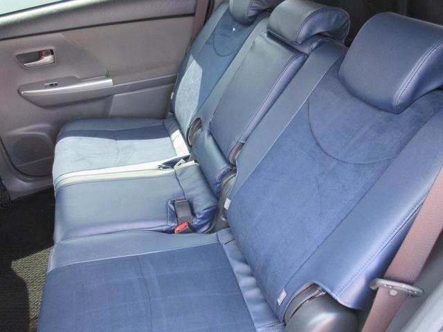 トヨタ プリウスアルファ S 1オーナ-社外9インチナビ モデリスタエアロ社外アルミ・