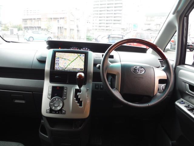 トヨタ ヴォクシー V 2列目回転シート
