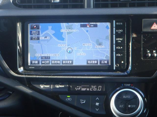 トヨタ アクア S  SDナビ ETC  バックモニター 新車保証継承