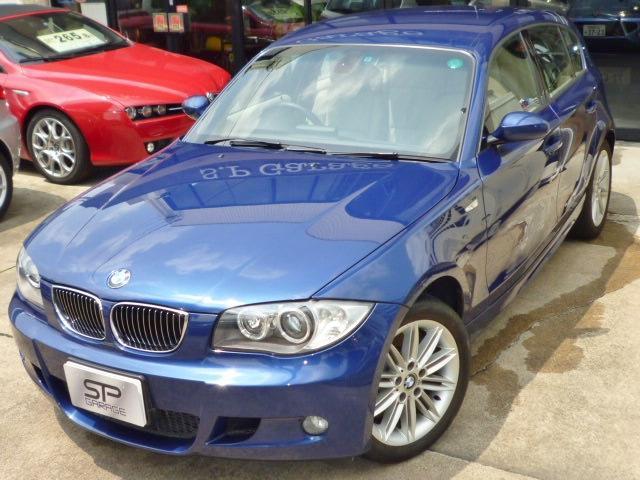 BMW BMW 130i Mスポーツ 6速MT 本革シート ナビ 車庫保管