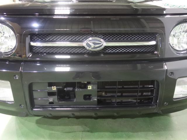 ダイハツ ネイキッド ターボG 5速 4WDターボ ブラックPVレザーシート