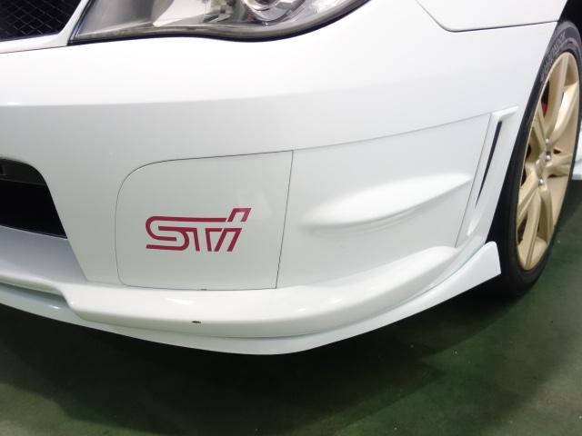 スバル インプレッサ WRX STI仕様フルエアロ Fエアロリップ STIウイング