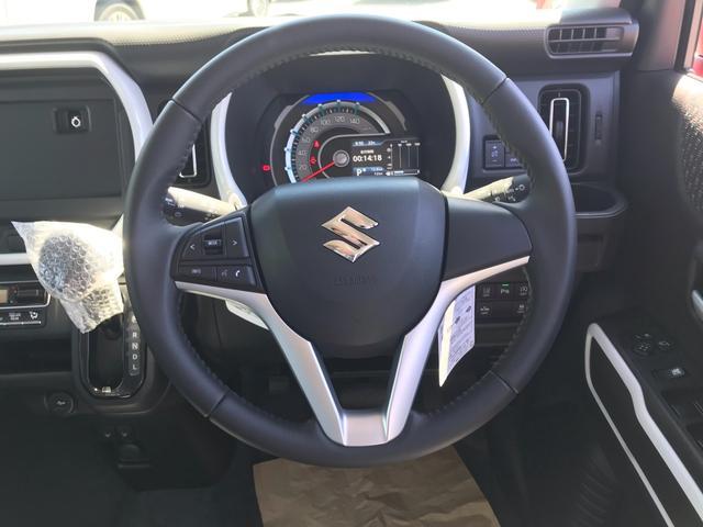 ハイブリッドX 届出済未使用車 スマートキー2本 新車保証書 取説 全方位カメラ シートヒーター セーフティーサポート(3枚目)