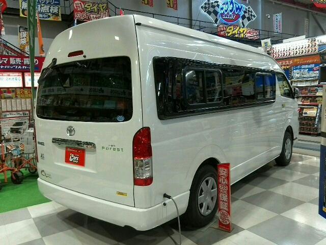 トヨタ ハイエースバン キャンピング rem Forest KULOSver.4WD