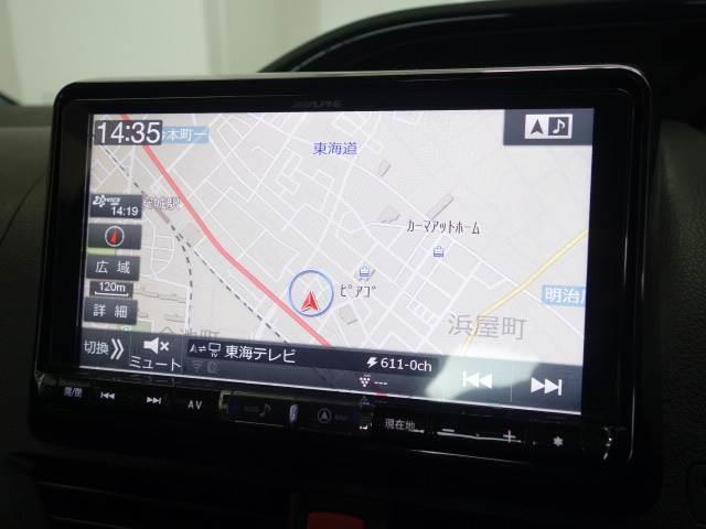 ハイブリッドGi 純正9型ナビ 12型フリップダウンモニター 衝突軽減 両側電動スライド 1オーナー Wエアコン LEDヘッドライト 黒革 シートヒーター クルコン USBコネクタ ETC(4枚目)