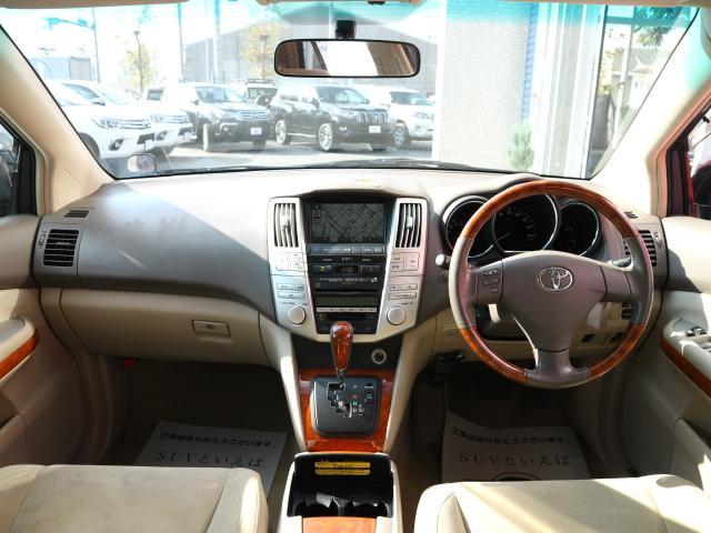 トヨタ ハリアー 300G アルカンターラバージョン Pバックドア Pシート