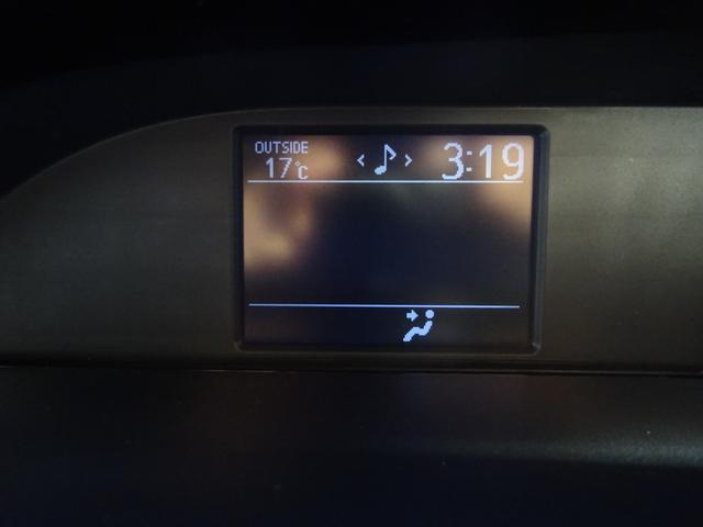 サブモニターで室内温度やエアコン搭載。