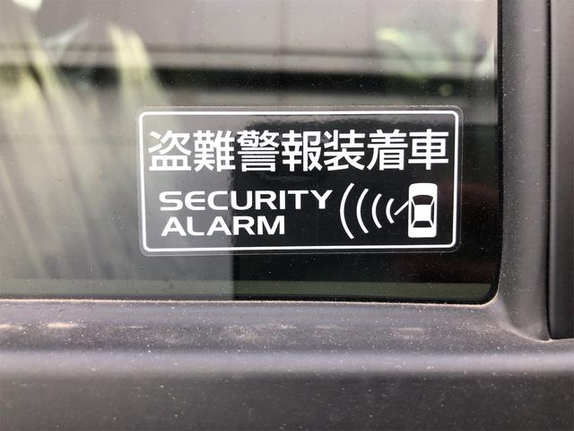 盗難警報装着車になります!