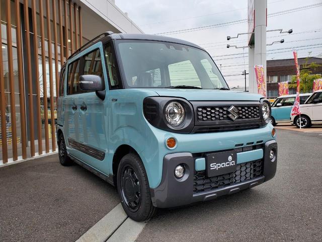 ハイブリッドXZ・最新2型・届出済未使用車(4枚目)
