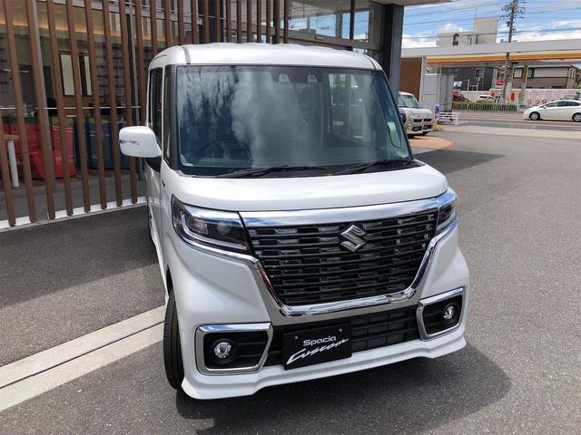 ハイブリッドGS 届出済未使用車・片側電動スライドドア・キーフリー・オートエアコン・シートヒーター・スズキセーフティサポート(7枚目)