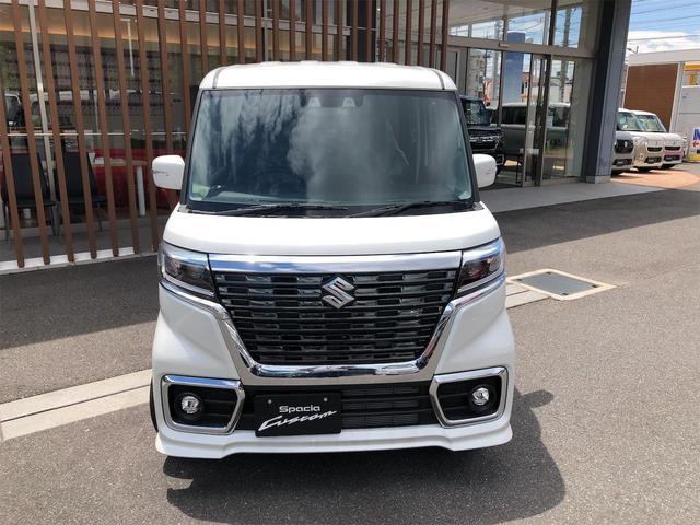 ハイブリッドGS 届出済未使用車・片側電動スライドドア・キーフリー・オートエアコン・シートヒーター・スズキセーフティサポート(8枚目)