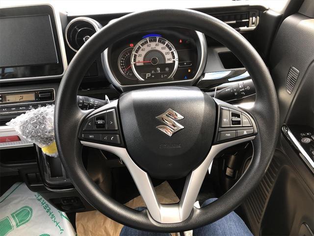 ハイブリッドGS 届出済未使用車・片側電動スライドドア・キーフリー・オートエアコン・シートヒーター・スズキセーフティサポート(13枚目)