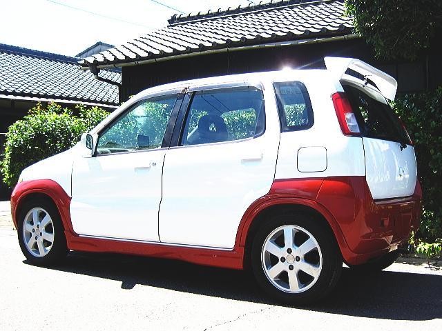 スズキ Kei 5速ターボ ローダウン オリジナルカラー
