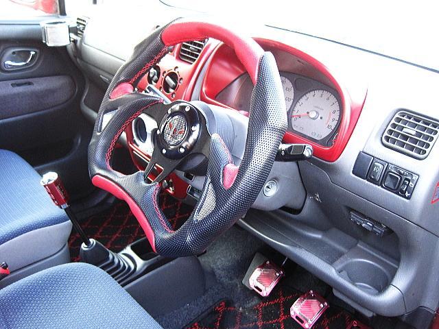 スズキ ワゴンR カスタム 5速ターボ テイクオフ フルエアロ ブーストUP
