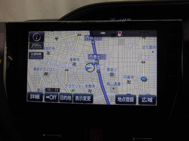 ZS 煌 4WD フルセグ メモリーナビ DVD再生 バックカメラ 衝突被害軽減システム ETC ドラレコ 両側電動スライド LEDヘッドランプ ウオークスルー 乗車定員8人 3列シート ワンオーナー(8枚目)