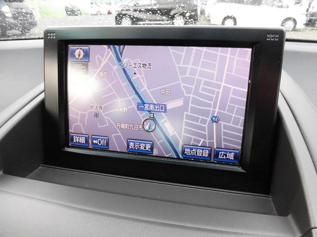 レクサス HS HS250h バージョンC HDDナビ スマートキー