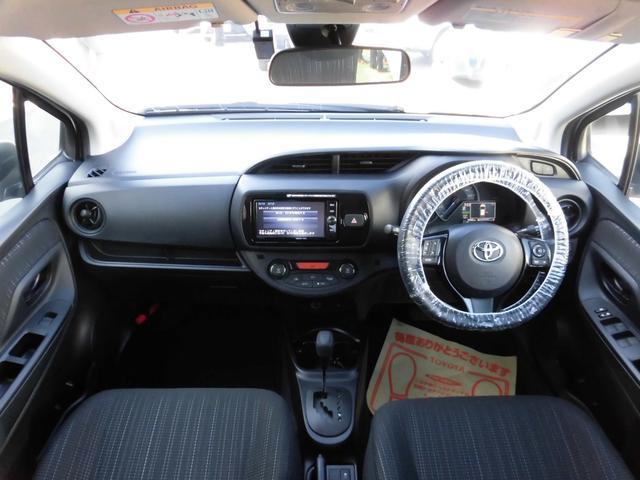 トヨタ ヴィッツ ハイブリッドF フルセグSDナビ ETC ドライブデコーダー