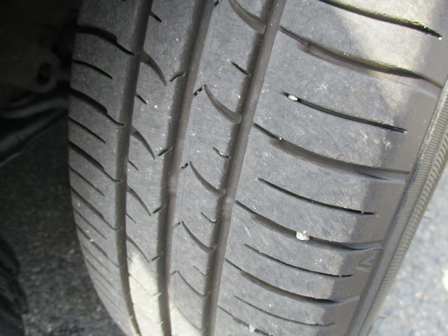 タイヤのコンディションをご確認ください。