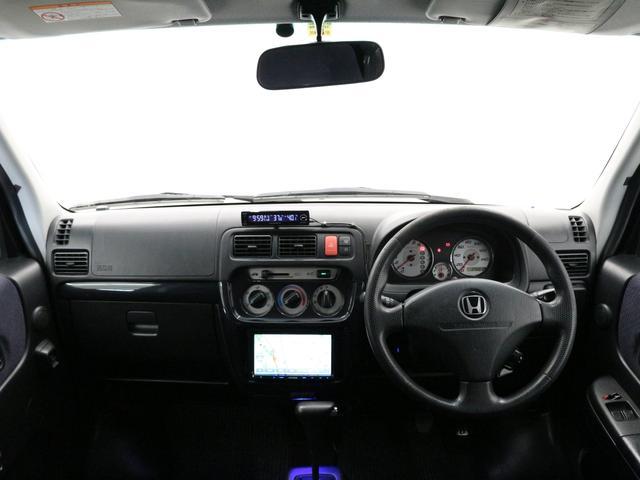 ホンダ バモス Lターボローダウン・4速AT・社外ナビ・Bluetooth