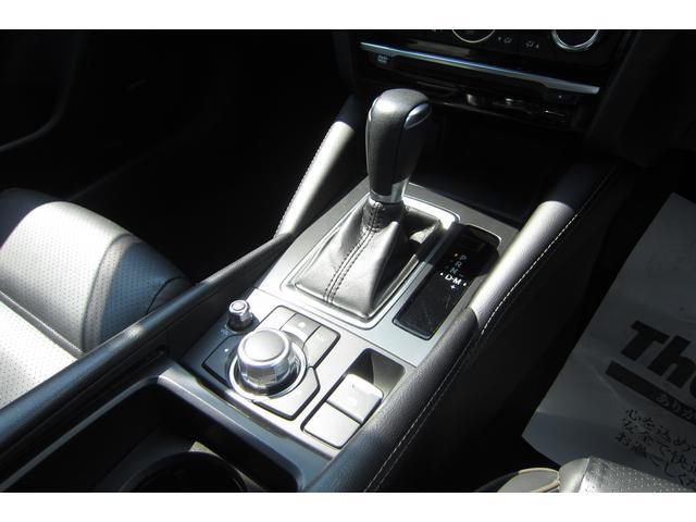 XD Lパッケージ スマートシティブレーキ/マツダコネクト/BOSEサウンド/黒革パワーシート/レーダークルーズコントロール/バックカメラ/クリアランスソナー/電動パーキングブレーキ/純正19アルミ/LEDヘッドライト(26枚目)
